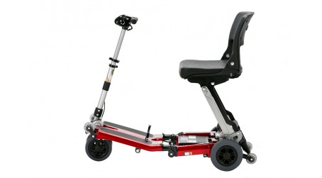Red Standard Folding Scooter