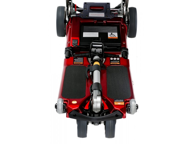 Red Standard Chassis Folding Scooter