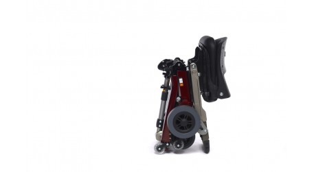 Lightweight folding mobility scooter for travel